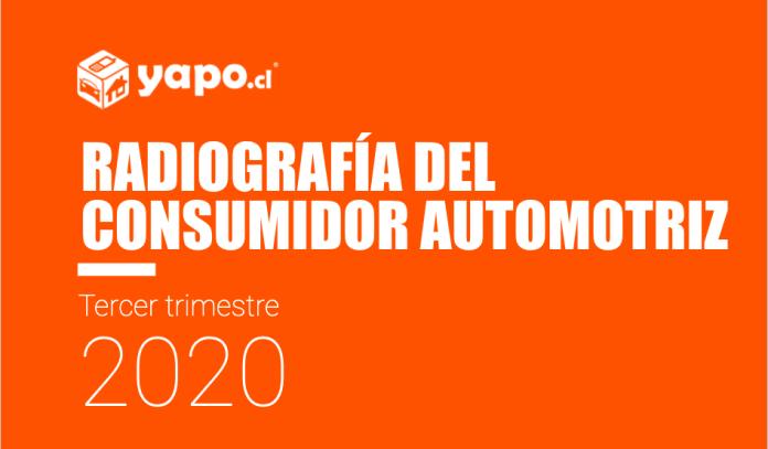 Radiografia consumidor automotriz tercer trimestre 2020 Yapo.cl