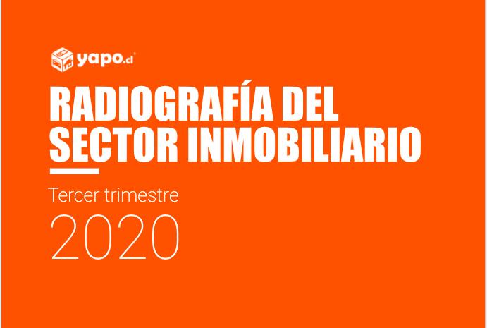 Radiografia del sector inmobiliario tercer trimestre 2020 Yapo.cl
